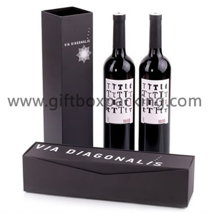 Customization and design Holiday Wine Boxes