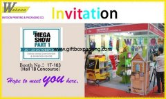 2017 Hong Kong international toys and gifts exhibition invitation