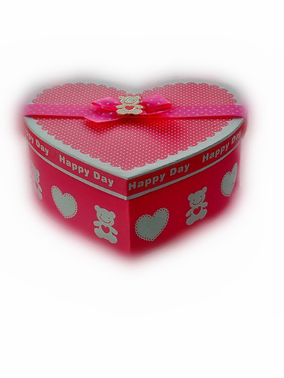 Heartshape gift boxes